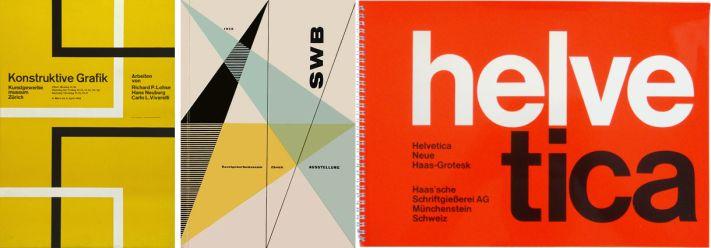 A flat design elődje: a svájci stlíus