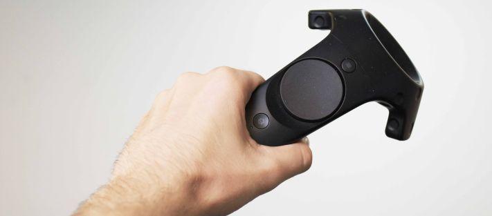 A HTC Vive vezérlője