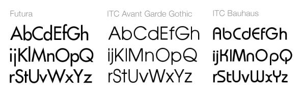 Sans serif mértani betűtípusok