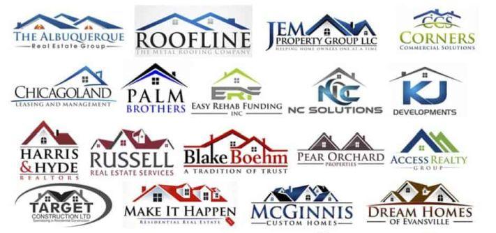 Ingatlanos cégek logói