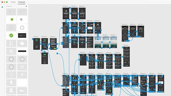Prototípus készítése az AdobeXD-vel