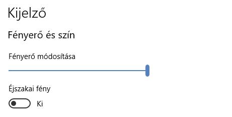 Windows 10 kapcsoló