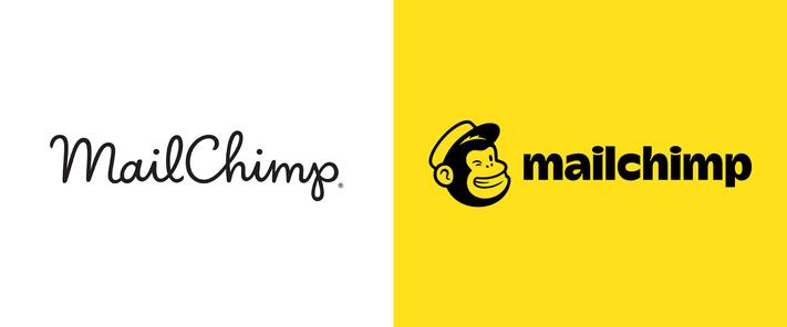 Mailchimp logó változása